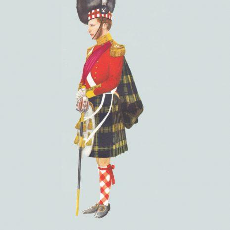 AN08 Officer, 92nd Highland Regiment, 1854