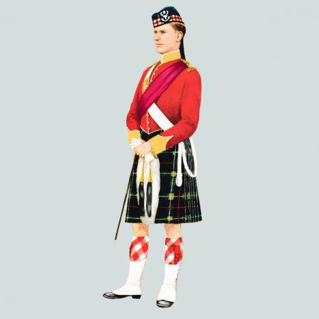 AN11 Officer, Seaforth Highlanders, 1892