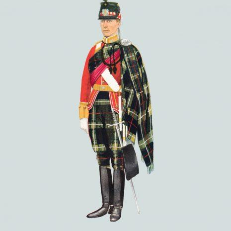 AN12 Officer, Highland Light Infantry, 1897