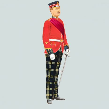 AN13 Sergeant Major, The Royal Scots Fusiliers, 1900