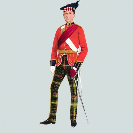 AN16 Officer, The Royal Scots, 1939
