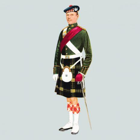 AN20 Officer, The Gordon Highlanders, 1959