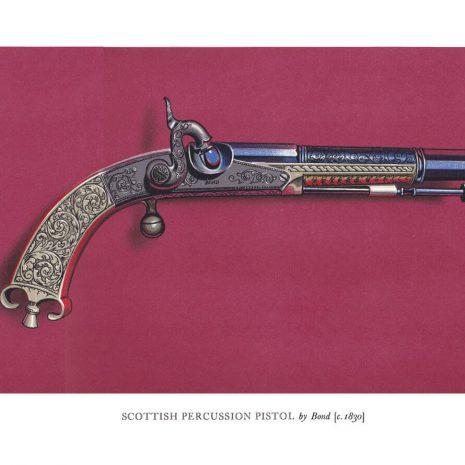 AO03 Scottish Percussion Pistol by Bond
