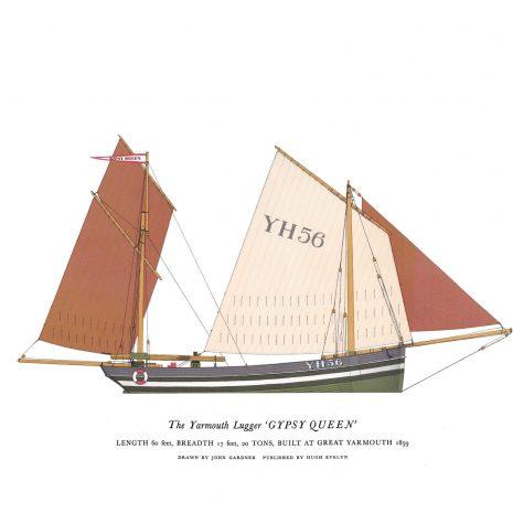 AP09 Yarmouth Lugger