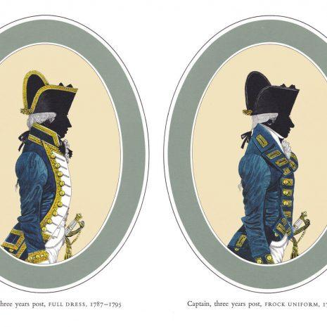 AR02 Captain Full Dress and Captain Frock Uniform