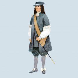 Officer, 1669