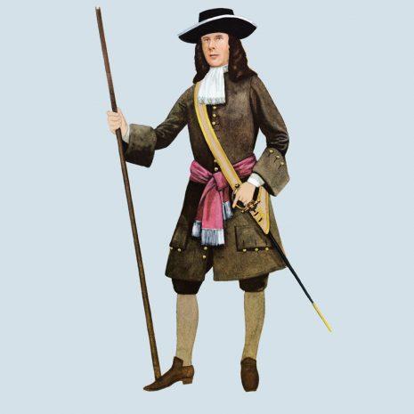 ATI04 Officer, Coldstream Guards, 1680