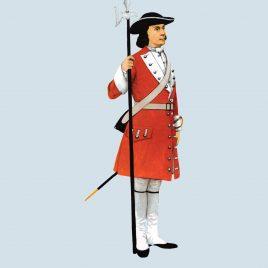Sergeant, Royal Scots, 1707