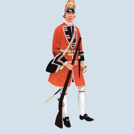 Grenadier, 2nd Foot, 1715 (Queen's Royal Regiment)
