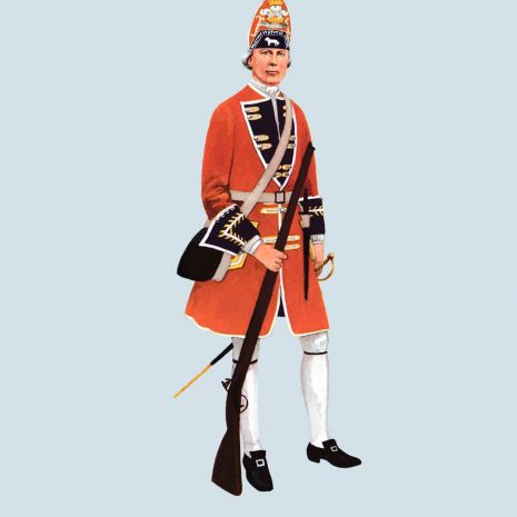 ATI07 Grenadier, 2nd Foot, 1715