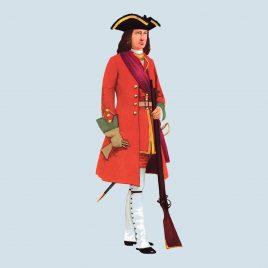 Officer, 1720