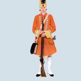 Grenadier, 3rd Foot, 1725 (Royal East Kent – The Buffs)