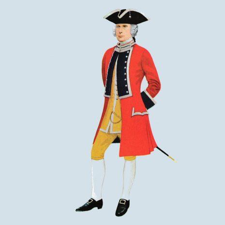 ATI12 Officer 21st Foot, 1751