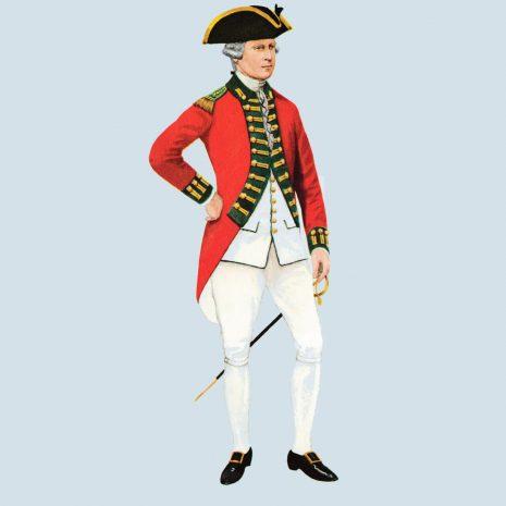 ATI16 Officer, 49th Foot, 1775