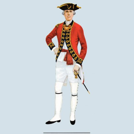 ATI18 Officer, 1st Guards, 1775