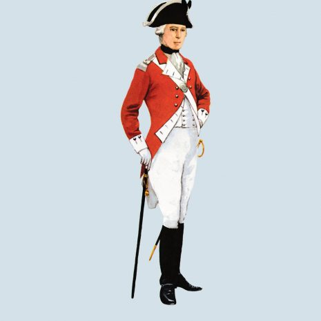 ATI19 Officer, 65th Foot, 1780