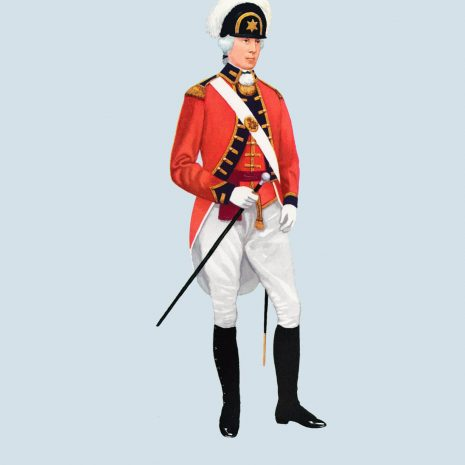 ATII02 Officer Light Company, Royal Fusiliers 1790
