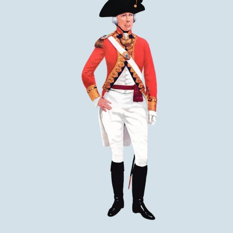 ATII03 Officer, 1st Guards, 1790