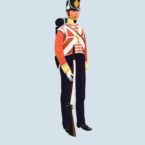 ATII07 Private, 57th Foot, 1811