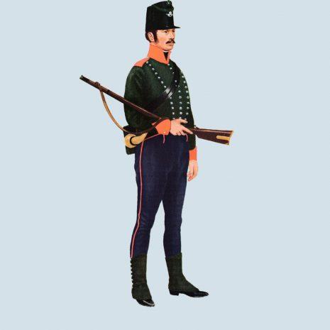 ATII08 Private, 4th Battalion, 60th Regiment, 1812