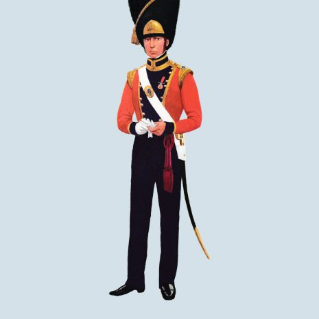 ATII11 Officer, Grenadier Co, Coldstream Guards, 1821