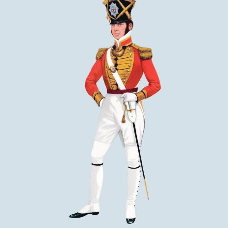 ATII12 Officer, Battalion Co, Coldstream Guards, 1821