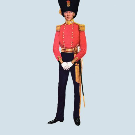 ATII16 Officer, Scots Fusilier Guards, 1831