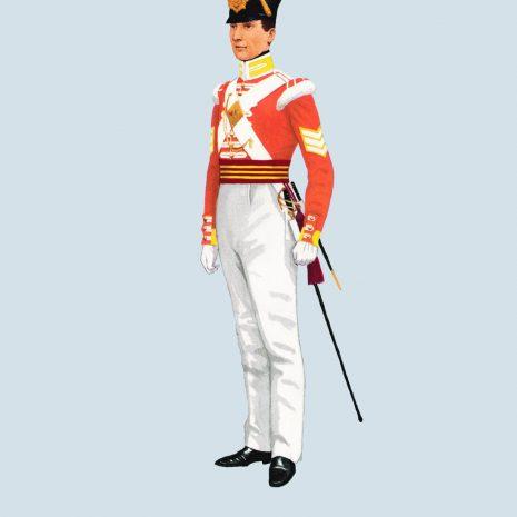 ATII18 Sergeant, 13th Light Infantry, 1833
