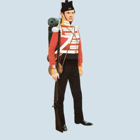 ATIII01 Private, 34th Foot, 1854