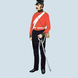 Field Officer, 39th Foot, 1854 (Dorsetshire Regiment)