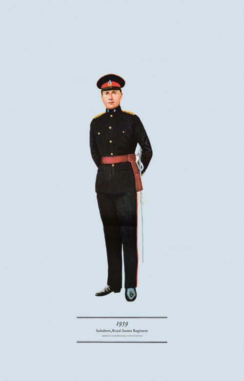 Infantry Uniforms: Crimea to Cyprus (1850-1960)