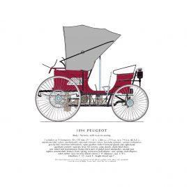 1892 Peugeot Type 3