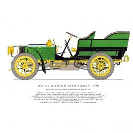 1902 de Dietrich Paris-Vienna Type