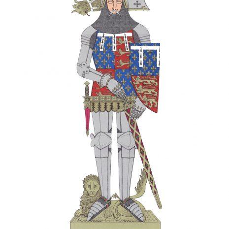 AV05 John (of Gaunt), Duke of Lancaster, K.G.