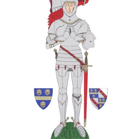 AV09 William de la Pole, Duke of Suffolk, K.G.