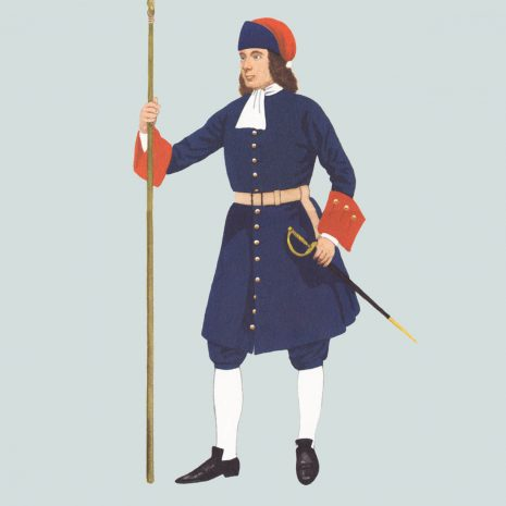 AW02 Gunner, Royal Artillery, 1722