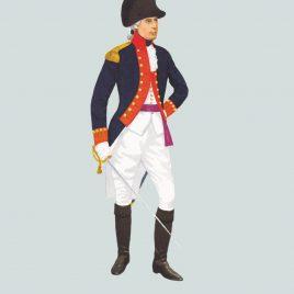 1792, Officer, Royal Artillery
