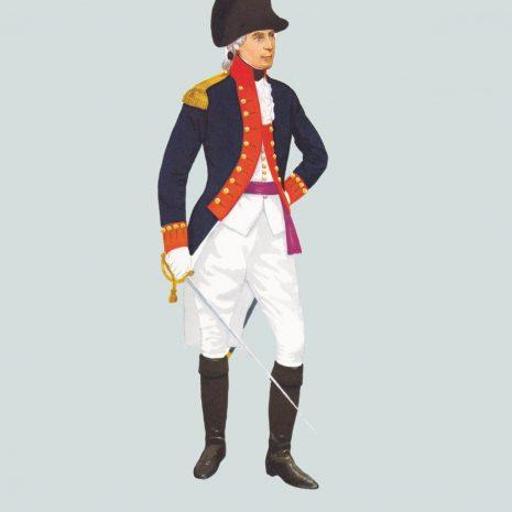 AW04 Officer, Royal Artillery, 1792