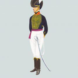 c.1800 Officer, Royal Horse Artillery