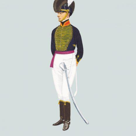 AW05 Officer, Royal Horse Artillery, 1800