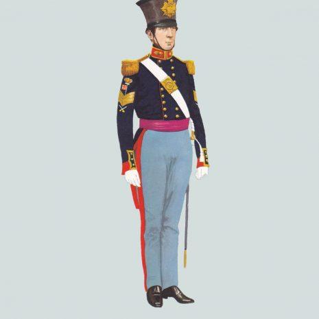 AW08 Company Sergeant, Royal Artillery, 1846