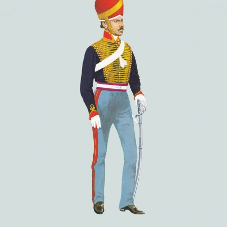 AW10 Jemadar, Madras Horse Artillery, 1847