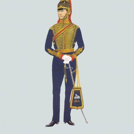 AW11 Officer, Bengal Horse Artillery, 1850