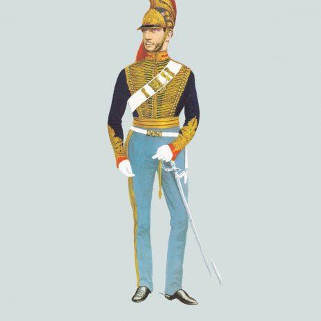 AW12 Officer, Madras Horse Artillery, 1857