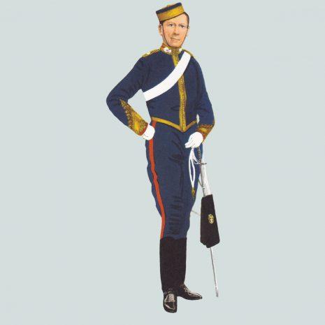 AW15 Field Officer, Royal Artillery, 1896