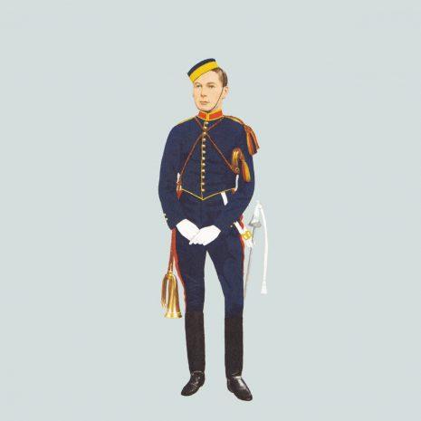 AW17 Trumpeter, Royal Horse Artillery, 1897
