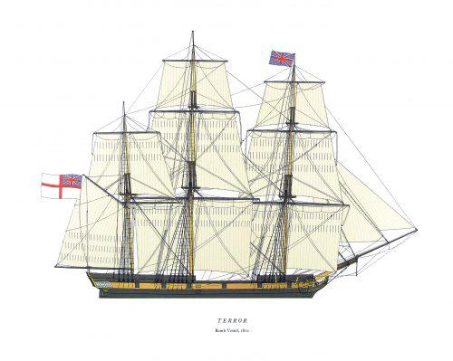 Royal Navy Warships - Sail 1765-1838