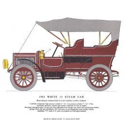 1905 White 15 Steam Car