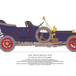 1908 Rolls Royce 40/50