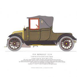 1910 Renault 12/16